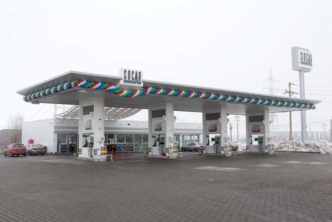 Photo: SOCAR plans to increase number of filling stations in Romania  / Oil&Gas