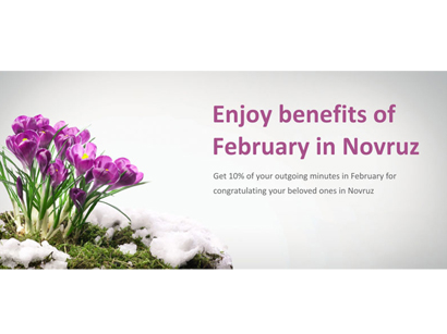 Photo: Nar Mobile launches new campaign for  Novruz holiday / Azerbaijan