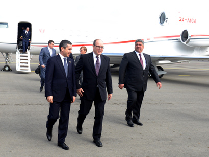 Photo: Prince Albert II of Monaco arrives in Azerbaijan / Politics