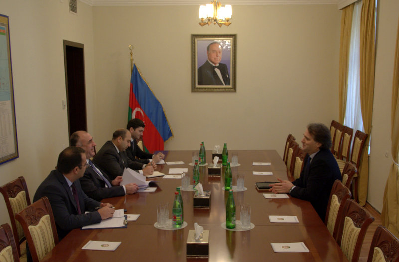 Photo: Azerbaijan`s FM meets president of International Fund  / Politics