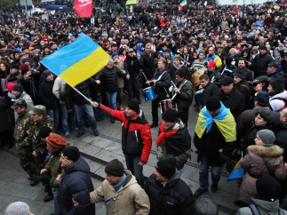 Photo: Georgia urges Ukraine to stop violence against protesters / Georgia