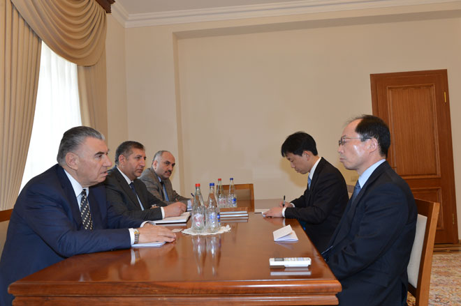 Photo: Japanese companies interested in investing in Azerbaijan's non-oil sector  / Politics