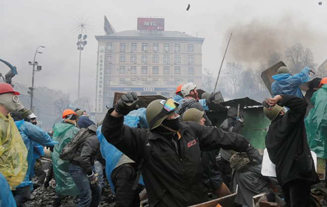 Photo: Yanukovych: Those who patronized Maidan responsible for situation in Ukraine / Politics