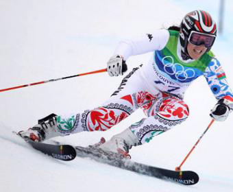 Photo: Azerbaijani alpine skier withdraws from competition in Olympics due to injury / Society