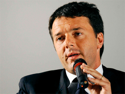 Photo: Italy's Renzi to be sworn in Saturday after unveiling cabinet / Politics