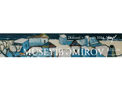 Photo: Museib Amirov's solo exhibition to be held in YAY Gallery / Society
