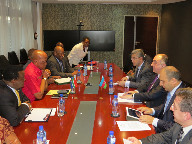 Photo: Azerbaijan, RSA discuss development of relations in energy sector