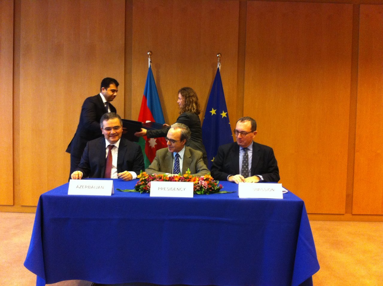 Photo: Signature of  readmission agreement very concrete step forward in EU-Azerbaijani relations / Politics