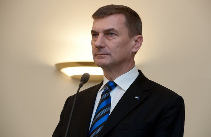 Photo: Estonian PM submits resignation / Other News