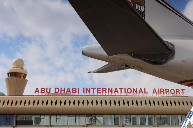 Photo: Flights into Abu Dhabi diverted by technical failure / Arab World