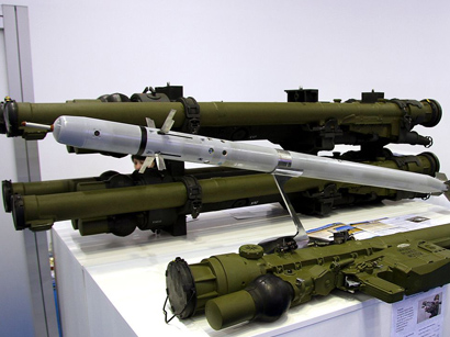 Photo: 'Igla' missile systems stolen from Ukraine's military depots during unrests