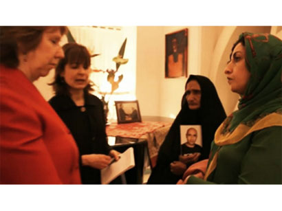 Photo: Iran criticizes Ashton's meeting with activists / Iran