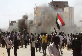 Photo: Sudanese police fire tear gas at funeral for slain student / Arab World