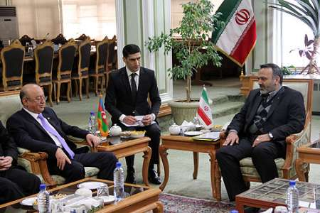 Photo: Azerbaijanˈs Minister of Emergency Situations underlines promoting Tehran-Baku ties / Iran