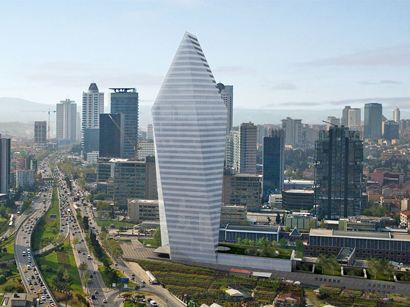 Photo: Istanbul's 'Crystal Tower' sold to Greek bank / Turkey
