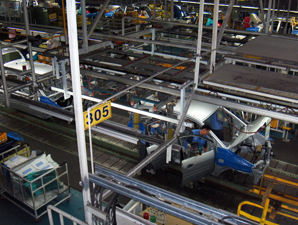 Photo: Ukrainian brand car production stopped in Kazakhstan / Economy news