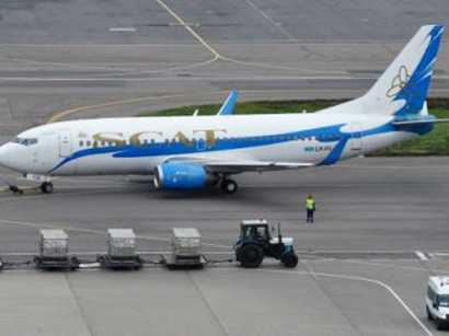 Photo: Kazakh aviation committee to conduct check at SCAT airline