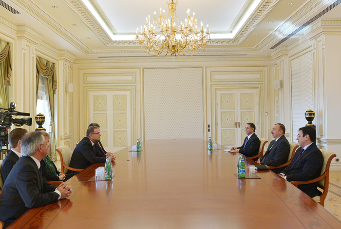 Photo: Azerbaijani president receives Second President of Austrian National Council  / Politics