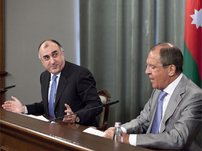 Photo: Azerbaijani and Russian Foreign Ministers meet in Moscow / Politics