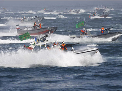 Photo: Iran's IRGC speed boats supplied with anti-warship missiles / Iran