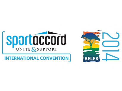 Photo: Baku 2015 European Games is the official Mobile Application Partner for SportAccord Convention 2014 / IT