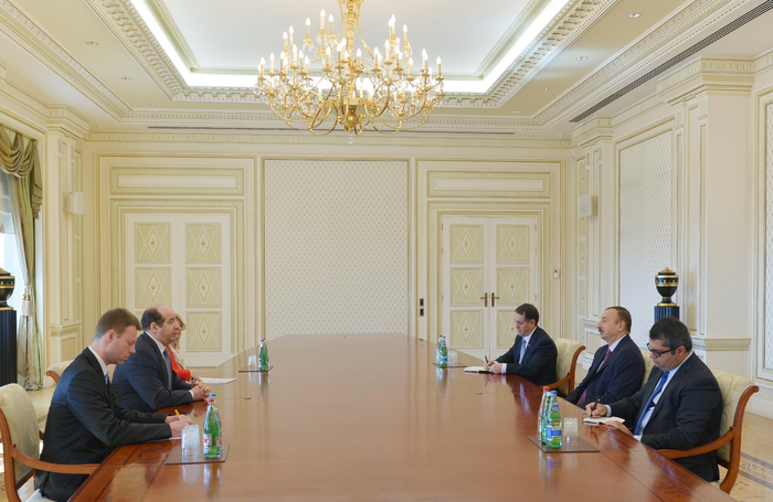 Photo: Azerbaijani president receives newly appointed NATO assistant secretary general