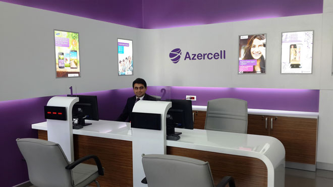 Photo: Azercell opens new Express Office in Baku