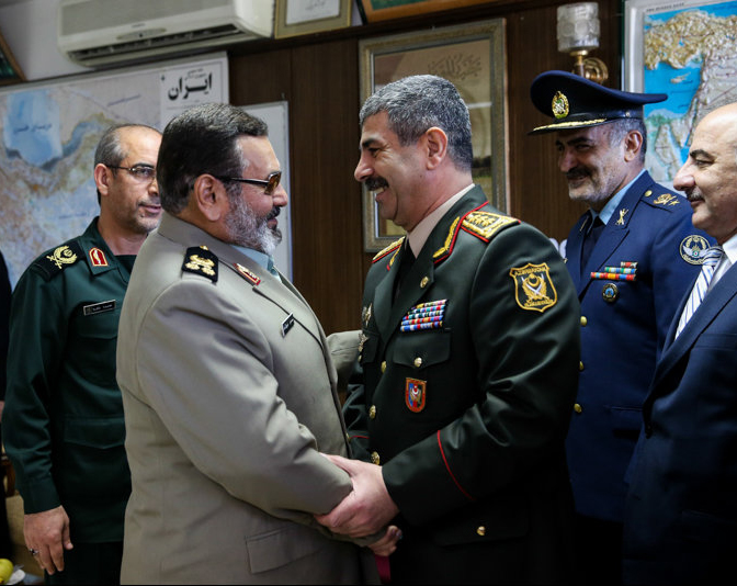 Photo: Azerbaijani defense minister, general staff chief of Iranian armed forces meet in Tehran / Politics