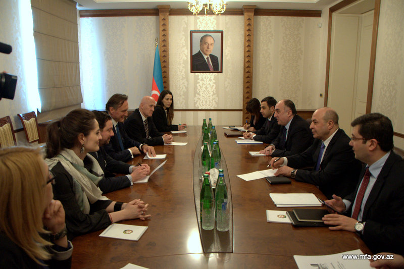 Photo: Azerbaijani FM meets with OSCE PA president  / Politics
