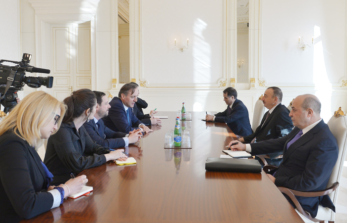 Photo: Azerbaijani president receives president of OSCE Parliamentary Assembly / Politics