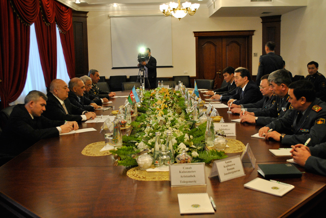Photo: Azerbaijan, Kazakhstan mull cooperation prospects in defense industry / Politics