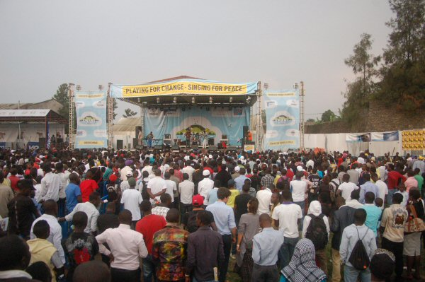 Photo: At least 14 crushed to death at Congo music festival / Other News