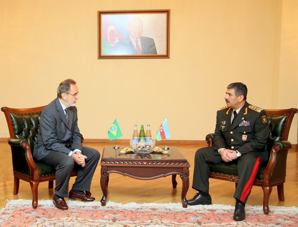 Photo: Azerbaijan, Brazil and Iran discuss defense cooperation (PHOTO) / Politics