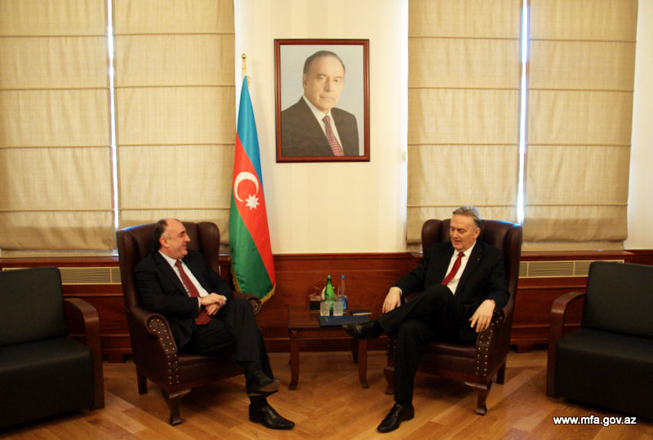 Photo: Azerbaijan, Bosnia and Herzegovina discuss development of bilateral relations / Politics