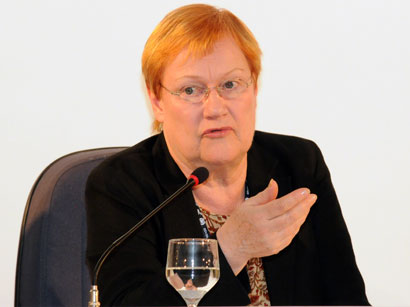 Photo: Finland's ex-president: Azerbaijan is remarkable example of fast development / Azerbaijan