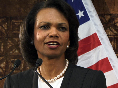 Photo: Condoleezza Rice pulls out of giving Rutgers commencement speech / Politics