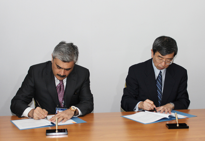 Photo: Azerbaijan signed loan agreement on road project with ADB / Economy news