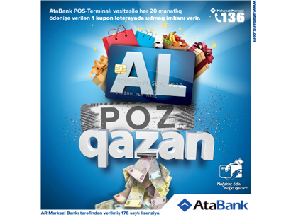 Photo: AtaBank congratulates winners within Pay, Scratch and Win campaign / Economy news
