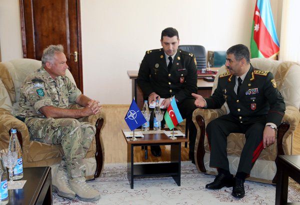 Photo: Defense Minister discusses regional military-political issues with NATO General / Politics