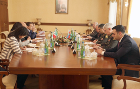 Photo: Azerbaijan, Italy mull cooperation prospects in defense sector / Politics