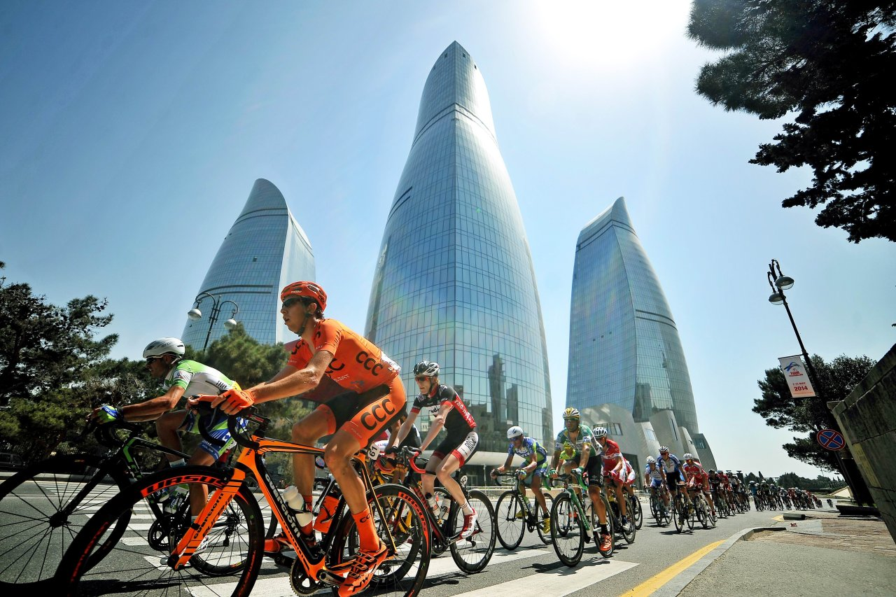 Photo: European Cycling Union praises Tour of Azerbaijan ahead of Baku 2015 European Games / Azerbaijan
