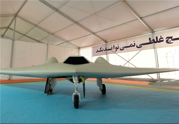 Photo: Iran unveils copied US RQ-170 stealth drone
