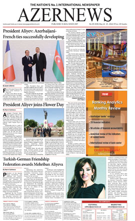 Photo: AZERNEWS releases another print issue  / Society