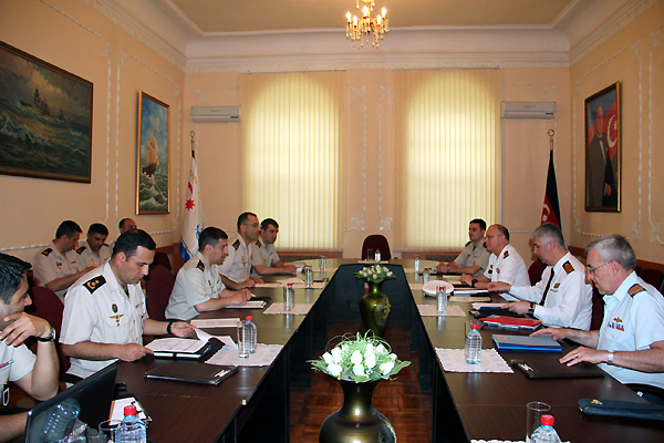Photo: NATO experts, Azerbaijani naval officers meet in Baku