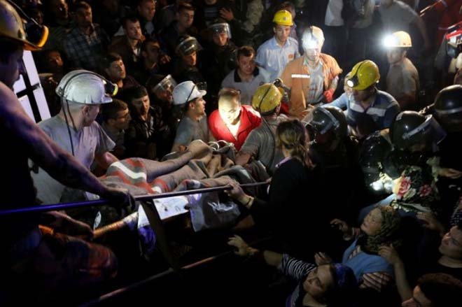 Photo: Death toll at mining accidents in Turkey since 1941 announced  / Society