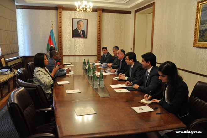 Photo: Azerbaijan, Angola discuss legal framework expansion / Politics