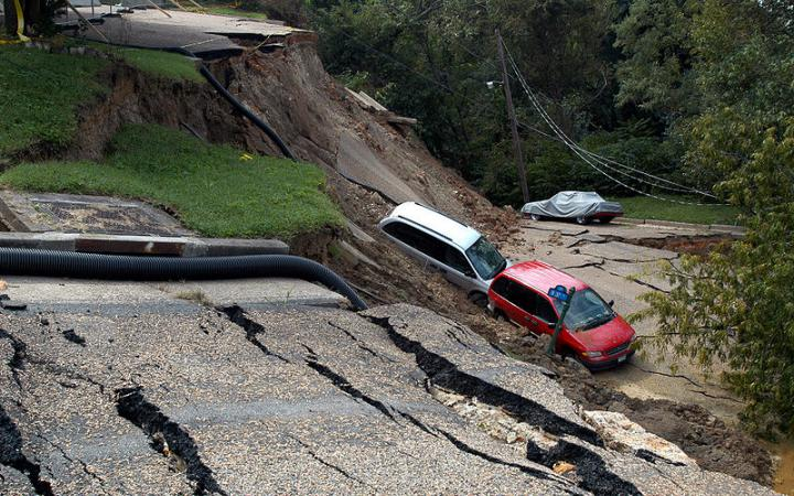 Photo: Georgia copes with consequences of Daryal Gorge landslide / Georgia