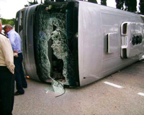 Photo: People injured in Istanbul's bus accident  / Other News