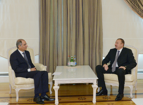 Photo: Azerbaijani president receives Turkish interior minister  / Politics