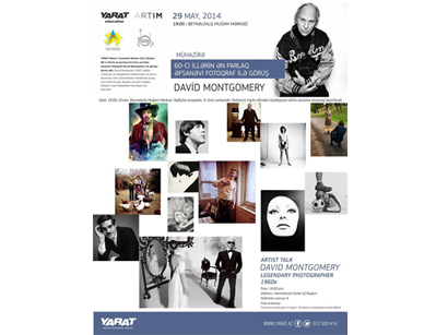 Photo: YARAT invites to attend artist talk by photographer David Montgomery / Azerbaijan
